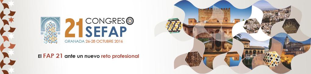 21 Congreso Nacional de la Sociedad Española de Farmacéuticos de Atención Primaria (SEFAP)