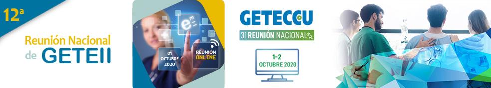 12ª Reunión Nacional de GETEII - 31 Reunión Nacional de GETECCU