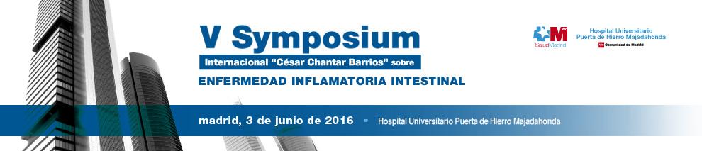 V Symposium Internacional César Chantar Barrios sobre EII