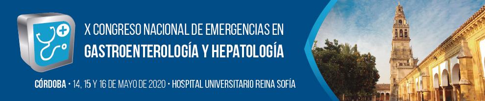 X Congreso Nacional de Emergencias en Gastroenterología y Hepatología