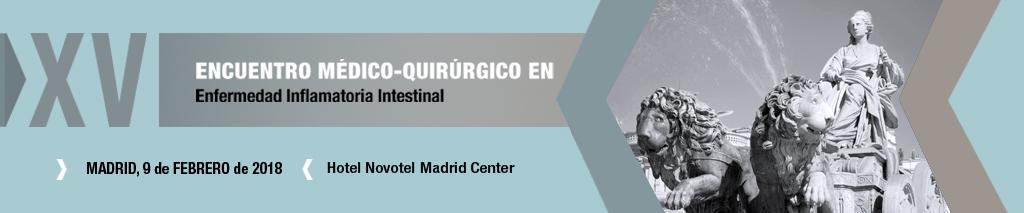 XV Encuentro Médico-Quirúrgico en Enfermedad Inflamatoria Intestinal