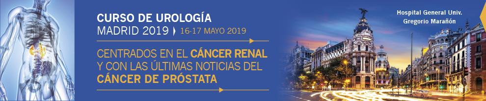 CURSO DE UROLOGÍA MADRID 2019: Centrados en el Cáncer Renal y con las últimas noticias del Cáncer de Próstata