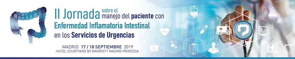 II Jornada sobre el manejo del paciente con EII en los Servicios de Urgencia