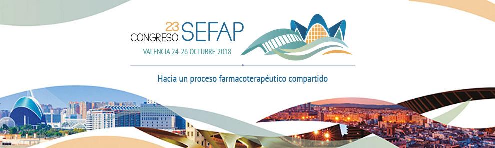 23 Congreso Nacional de la Sociedad Española de Farmacéuticos de Atención Primaria (SEFAP)