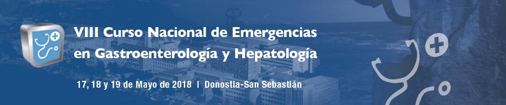 VIII Curso Nacional de Emergencias en Gastroenterología y Hepatología