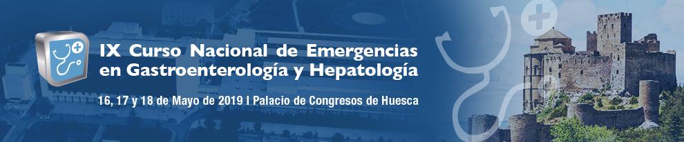 IX Curso Nacional de Emergencias en Gastroenterología y Hepatología